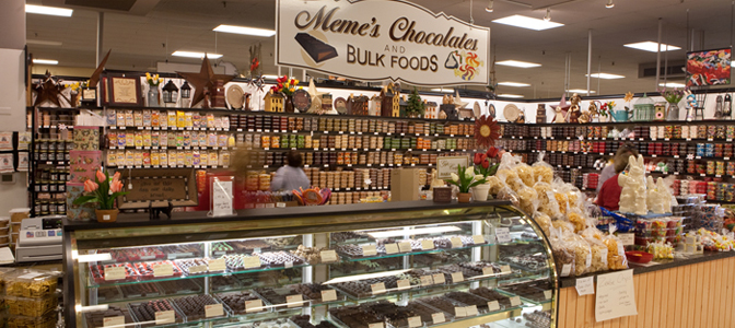MeMe's Chocolates and Bulk Foods
